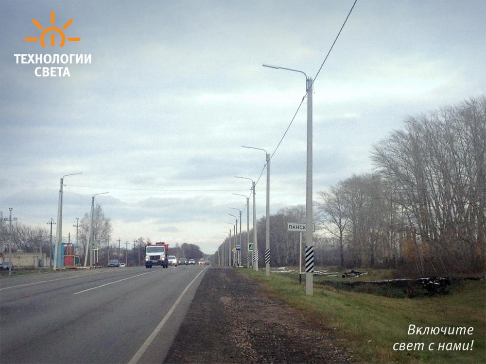 Освещение улицы г. Тамбов